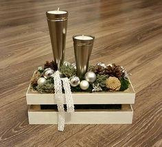 svojko / Extravagantný vianočný svietnik