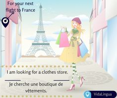 When you shop, your world becomes better doesn't it? We can't get enough of Paris shopping. But how would you ask a local for the best, and not to forget economical shopping outlet? Learn this and much more with VidaLingua. Download the free version of our app on- http://vidalingua.com/ Happy learning, Happy shopping!