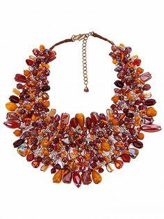 TWIST'N'SCOUT Beaded Necklace by TWIST'N'SCOUT