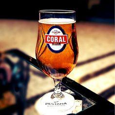 Coral Cerveja #beer #beerblog #beerstagram #madeira #portugal #pestanavillagemiramar #funchal