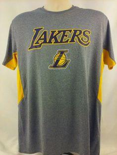 3654dbf97 LA Lakers warm up workout sport shirt size Large NWOT  LosAngelesLakers Nba  Shirts