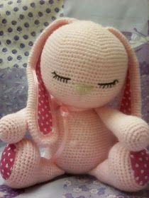 Mesmerizing Crochet an Amigurumi Rabbit Ideas. Lovely Crochet an Amigurumi Rabbit Ideas. Easter Crochet, Crochet Bunny, Crochet Animals, Crochet Crafts, Crochet Projects, Free Crochet, Crochet Motifs, Crochet Patterns Amigurumi, Baby Knitting Patterns