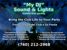 Mobil DJ Services for Central Texas
