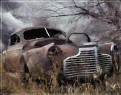 Moods of a Rusty Car