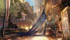 bioshock columbia   Greetings from Columbia: BioShock Infinite concept art