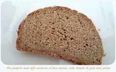 Tranche de pain sans gluten au riz et sarrasin