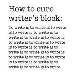 Im writing an essay and have writer's block?