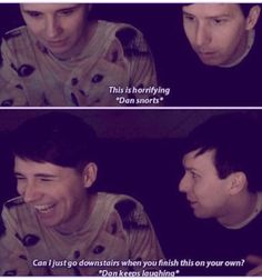 This was the best thing having Phil play too because he was so freaked out god I love phil