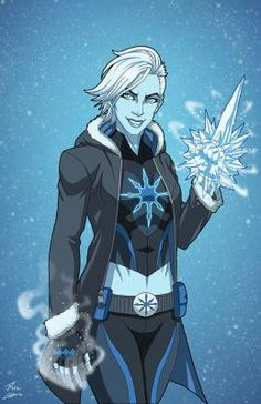 Coldsnap (Earth-27) commission by phil-cho
