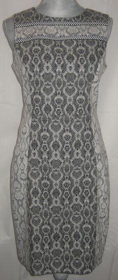 $65  BADGLEY MISCHKA BELLE Black Snake Print Sheath Sleeveless Dress-10 NWT msrp $179  eBay Store: The Mall Concierge