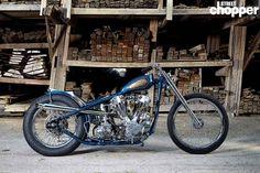 Streamlined Harley-Davidson Knucklehead | Street Chopper #harleydavidsonstreetbobber