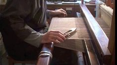 Weaving. Video by Paul Harper.