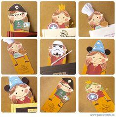 Marcapáginas imprimible para mamás de Pata de Pirata >> Printable Bookmarks for moms by Pata de Pirata.