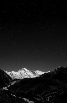 Stars lighting the night