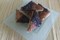 Sallys Blog - Nussecken, bereits ausprobiert: sehr lecker, aber evtl. etwas weniger Zucker in den Belag
