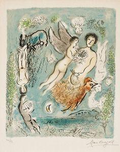 """Marc Chagall's  """"L'Ile de Poros"""""""