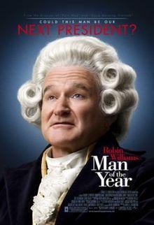 Man of The Year starring Robin Williams, Christopher Walken and Jeff Goldblum