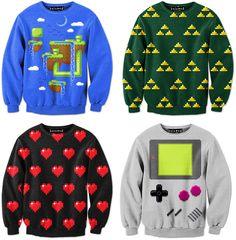 Videogame Pixel-Sweater