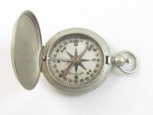 Collectibles - Etsy Vintage  WWII Wittnauer US Army Corps of Engineers military compass--this would look GREAT in a display table or on display on a bookcase
