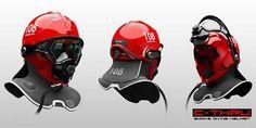 helmet to see through smoke