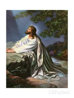 Christ in the Garden of Gethsemane by Heinrich Hofmann, 1930S Giclee Print by Heinrich Hofmann at AllPosters.com
