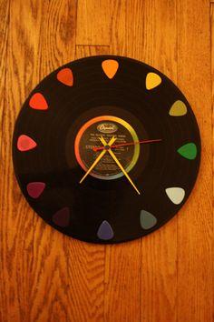 """The Beatles """"The Beatles Second Album"""" 33 (Album) Record Clock"""