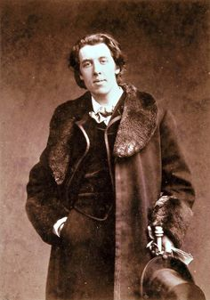 """I can resist everything except temptation."" --Oscar Wilde"