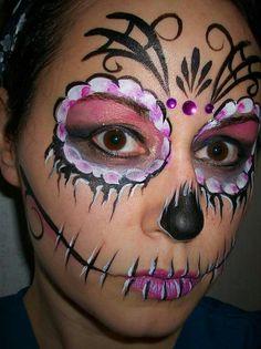 Sugar Skull Halloween Day of the Dead