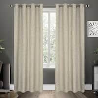 Shop ATI Home Alegra Thermal Woven Blackout Grommet Top Curtain Panel Pair - On Sale - Free Shipping Today - Overstock - 18590736 Sheer Curtain Panels, Blackout Curtains, Drapes Curtains, Window Treatment Store, Window Treatments, Energy Efficient Windows, Best Windows, Home Decor Outlet, Home And Garden