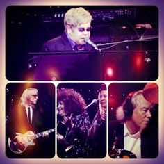 Elton John at Hope Estate, #HunterValley 2011