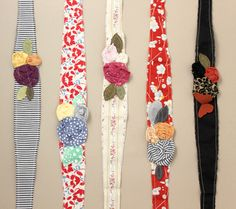 creatively christy: DIY fabric headbands love these like the ones we made for Disneyland.