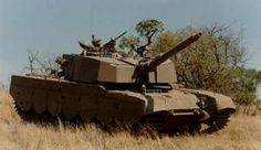 The Olifant was a modified British Centurion from derived from the interim Skokiaan developed by ARMSCOR. World Tanks, The Centurions, Military Armor, Tank I, Battle Tank, Armored Vehicles, War Machine, Warfare, Military Vehicles