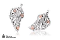 Debutante Feather Stud Earrings | Clogau