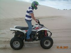 By far the most exciting thing on 4 wheels, Quad Biking Cape Town on the sand dunes is a rush like no other. Quad Bike, Adventure Tours, Cape Town, Biking, Outdoor Power Equipment, Quad, Cycling, Adventure Travel, Bicycling