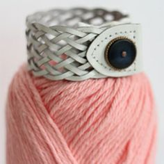 Do you still have your 90s skinny braided belt in the back of the closet? Let's remake it into a fashion-forward bracelet!