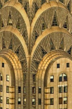 the Chrysler Building, New York City. designed by William Van Alen (1930)