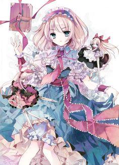 「少女人形」/「シエラ」のイラスト [pixiv] Alice Margatroid. My favourite character actually. She has the coolest name. http://www.pixiv.net/member_illust.php?mode=medium_id=38171103