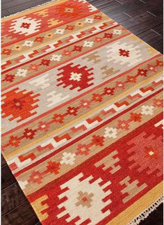 modernrugs.com Modern Kilim Woven Anatolia Constantinople Rug