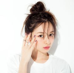 Sen Painted Lijia - Let's talk together on the micro topic! Japanese Makeup, Japanese Beauty, Asian Beauty, Beauty Makeup, Hair Makeup, Hair Beauty, Prity Girl, Hair Arrange, Asian Makeup