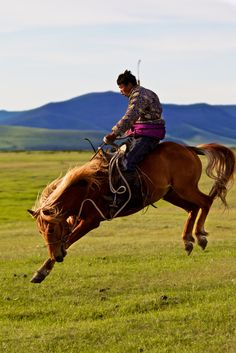 Mongolia, Horse rinding   Flickr - Photo Sharing!