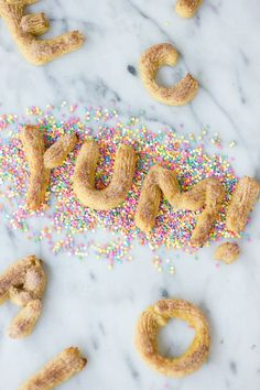 Fun in the kitchen | Letter churros.
