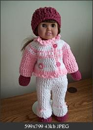 free crochet pattern for the hat, jacket, pants, scarf, mittens & boots