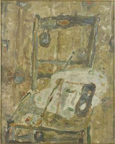 Chaise masques et palette Pougny Jean (dit), Puni Ivan (1892-1956)