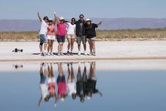 Grupo de Fevereiro de 2014 na Laguna Cejar