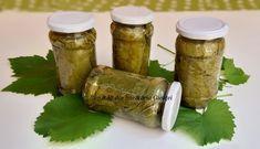 Frunze de vita-de-vie la saramura - Bunătăți din bucătăria Gicuței Pickles, Cucumber, Mason Jars, Recipes, Food, Recipies, Essen, Mason Jar, Meals