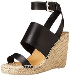 Dolce Vita Womens Nessah Espadrille Sandal Black 6 M US * Check out this great product.