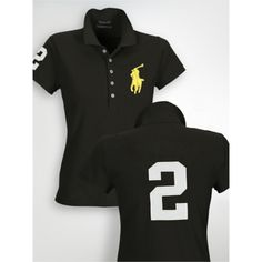Cheap Ralph Lauren Womens Big Pony Polo Short T Shirts Polo