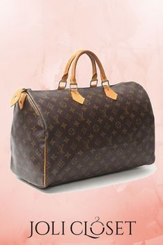 2d83a2e5b3 Get your hangs on the iconic Louis Vuitton Speedy 40
