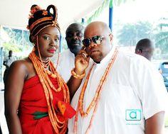 Nigerian Benin wedding princess Edire & prince osama Erediauwa 6