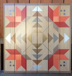 This particular thing is honestly an amazing style technique. Barn Quilt Designs, Barn Quilt Patterns, Quilting Designs, Star Quilts, Quilt Blocks, Farmhouse Quilts, Painted Barn Quilts, Snowman Quilt, Barn Signs